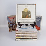 Approximately 50 Vinyl LP Records, Mostly Classical, Including Handels Messiah, The Seekers and More
