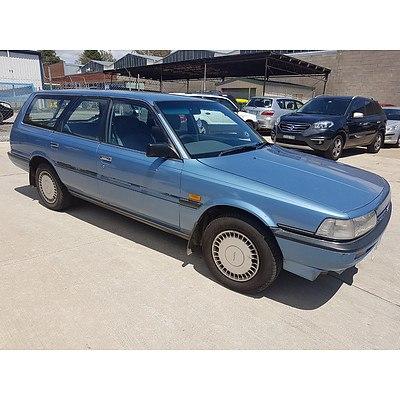 8/1991 Toyota Camry CSi SV21 4d Wagon Blue 2.0L