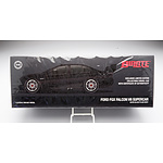 Biante - Ford FGX Falcon V8 Supercar Satin Black Plain Body 115/360 1:18 Scale Model Car - *Brand New*