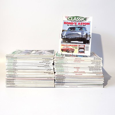 Approximately 60 'Classic and Sportscar' Magazines from the 1980's and 1990's Onward.