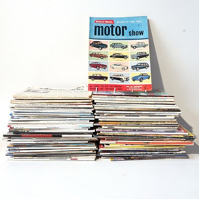Large Assortment of Car Magazines and other Car Related Ephemera from the 1960's Onward