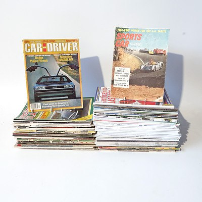 Range of Assorted Car Magazines and Ephemera from the 1960's 1970's Onward