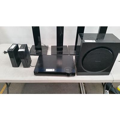 Samsung Series 6 7.1 Surround System (4 Speakers Only)