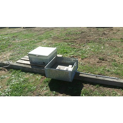 Lot 14 - Galvanised Electrical Boxes - Lot of 2
