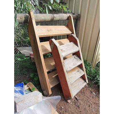 Lot 187 - Timber Step Tread