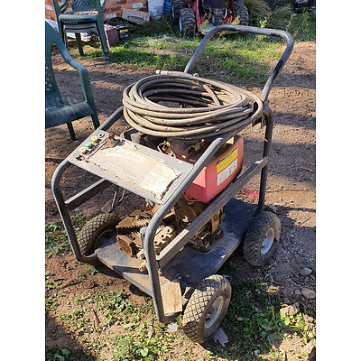 Lot 194 - Jet USA JU-250D 9.0hp 3500psi Diesel Pressure Washer