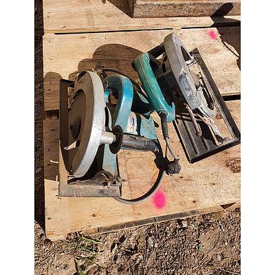 Lot 197 - Makita 5900B 235mm Circular Saw's - Lot of 2