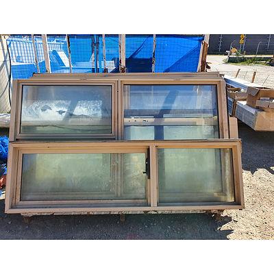 Lot 215 - Assorted Double Glazed Windows