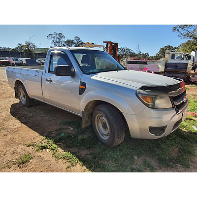 Lot 218 - 10/2009 Ford Ranger XL (4x2) PK P/up SIlver 2.5L