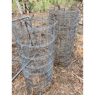 Lot 230 - Fencing Wire Mesh - Lot of 2 Lengths