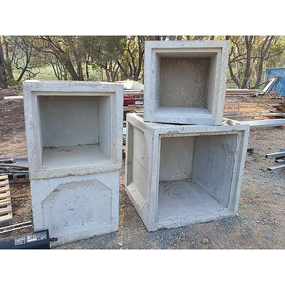 Lot 241 - Concrete Box Culverts - Lot of 4