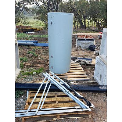 Lot 242 - SolarArk 450L Solar Tank & Components