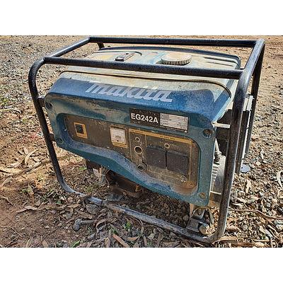 Lot 89 - Makita EG242A Petrol Generator