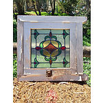 Lot 109 - Antique Stained Glass Window