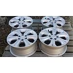 Lot 133 - Nissan Navara 16x7 Alloy Wheels - Set of 4