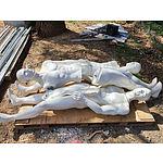 Lot 94 - Full Size Shop Display Mannequins - Lot of 3