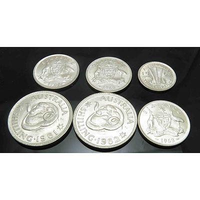 Australia: Uncirculated Silver Coins - Ex Mint Rolls