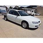 2/2007 Holden Crewman  VZ Crew Cab Utility White 3.6L