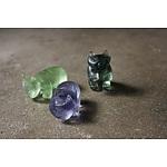 3 Pocket Wombats - English Garden   by Luna Ryan