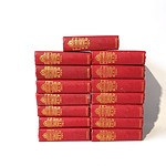 15 Volumes Works of Charles Dickens, Waverly Book Co, London, Including A Tale of two Cities, Pickwick Papers, Nicholas Nickleby and More