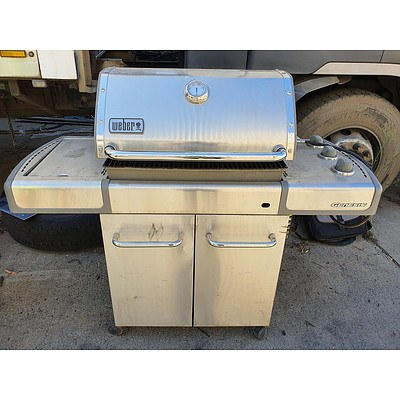 Weber Genesis S-320 Stainless Outdoor Gas BBQ