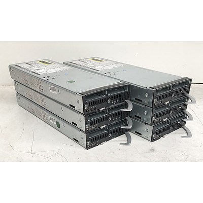 HP ProLiant BL460c G7 Xeon CPU Blade Servers - Lot of Six