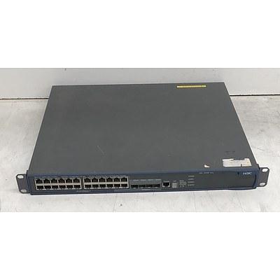 H3C (S5500-28C-PWR-EI) S5500 24-Port Gigabit Managed Switch