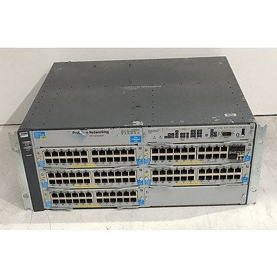 HP ProCurve (J8697A) 5406zl Network Chassis