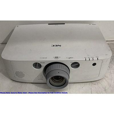 NEC (PA500X) XGA 3LCD Projector