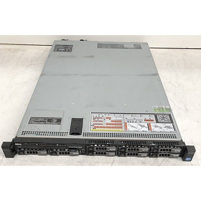 Dell PowerEdge R620 Dual Octa-Core Xeon (E5-2670 0) 2.60GHz 1 RU Server