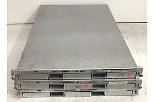 Apple xServe 1RU Servers - Lot of Three