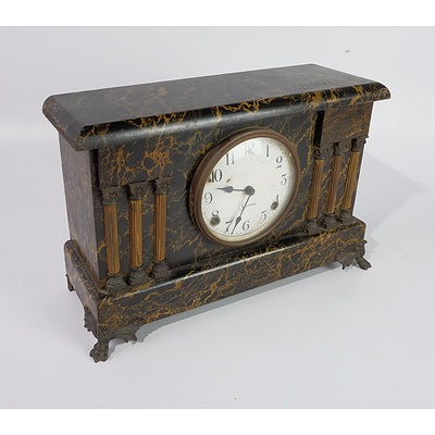 Antique American Sessions Mantel Clock Early 20th Century