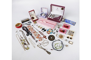 Quantity of Costume Jewellery Including Pendents, Necklaces, Bangles and More