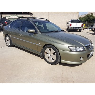 8/2005 Holden Calais  VZ 4d Sedan Grey 3.6L