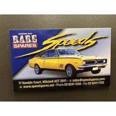 Speeds Rare Spares voucher