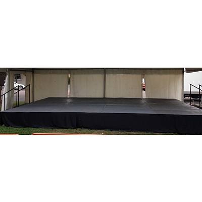 40 Sq Meter Elevated Portable Stage