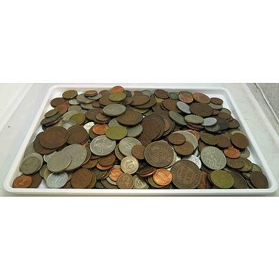 Collection Of World & Australian Coins