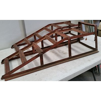 Car Ramps (Lot Of Two)