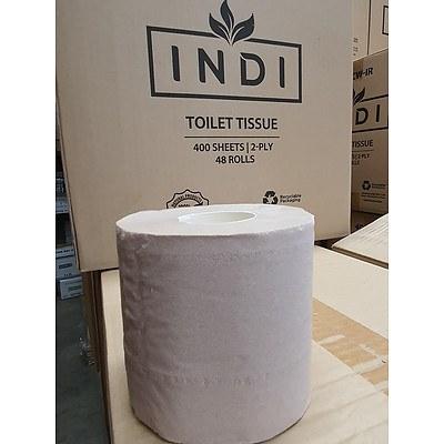 Indi Toilet Paper - Lot of 1440 Rolls