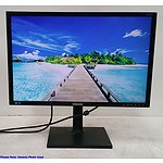 Samsung (S24C450BW) 24-Inch Widescreen LED-Backlit LCD Monitor