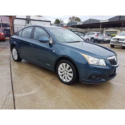 11/2011 Holden Cruze CD JH MY12 4d Sedan Blue 1.4L