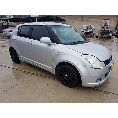 2/2007 Suzuki Swift EZ 5d Hatchback Silver 1.5L