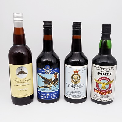 Four Bottles of RAAF Port