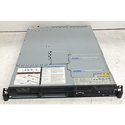 IBM System x3550 Xeon (E5405) 2.00GHz 1 RU Server