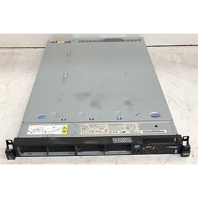 IBM System x3550 M3 Dual Xeon (E5620) 2.40GHz 1 RU Server