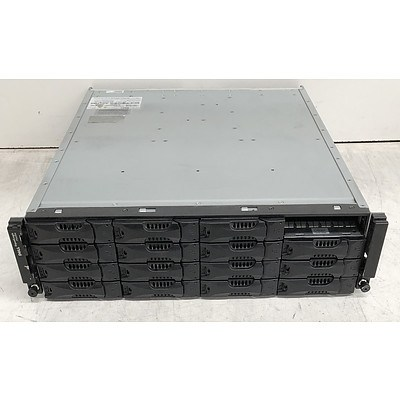 Dell EqualLogic PS6000 16 Bay Hard Drive Array w/ 7.2TB of Total Storage