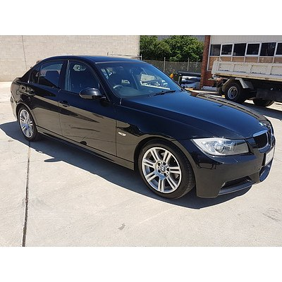7/2008 BMW 320i Executive E90 08 UPGRADE 4d Sedan Black 2.0L