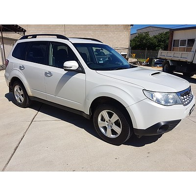 5/2012 Subaru Forester 2.0D MY12 4d Wagon White 2.0L