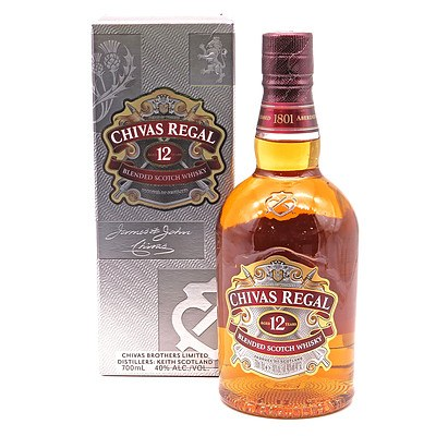 Chivas Regal Blended Scotch Whisky Aged 12 Years, 700ml