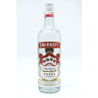 Smirnoff Vodka, 750ml